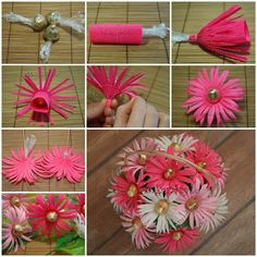 DIY Chocolates Gerbera Flower Bouquet 3
