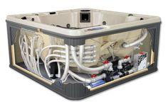 sundance spa plumbing diagram | , Jacuzzi Spa Part, Jacuzzi Heater, Spa Heaters, Hot Tub Heaters, Spa ...
