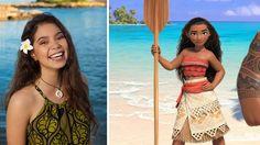 14-year-old Auli'i Cravalho will voice the title character in Disney Moana.  http://abc7.com/entertainment/meet-the-next-disney-princess-moana/1022106/