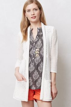Open Knit Cardigan by Angel of the North at Anthropologie $98.00