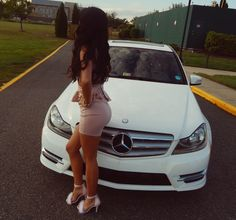 Fur Celeste in NUDE PINK Lazy Outfits, Trendy Outfits, Rich Cars, Merc Benz, Shooting Photo, Cute Relationship Goals, Car Girls, Girl Photography Poses, Sexy Cars