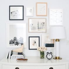 how to curate art for a collage gallery wall minted giveaway is part of Dresser decor - How to Curate Art for a Collage Gallery Wall + Minted Giveaway Wallart Collage Home Bedroom, Bedroom Wall, Bedroom Decor, Wall Decor, Wall Art, Bedroom Apartment, Bedroom Gallery Walls, Bedroom Inspo, Bedrooms