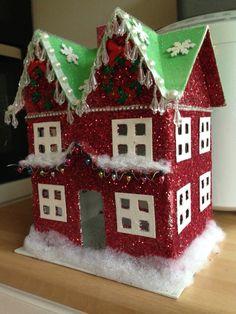 A beautiful Christmas house