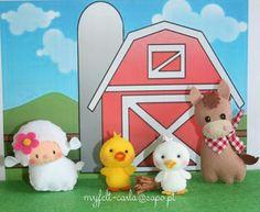 Felt farm friends