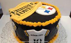 25 Excellent Photo of Steelers Birthday Cake . Steelers Birthday Cake Steeler C Elegant Birthday Cakes, Birthday Cake Pictures, Birthday Ideas, 40th Birthday, Birthday Parties, Pinterest Cake, Oh My Fiesta, Cookie Designs, Sweet Cakes