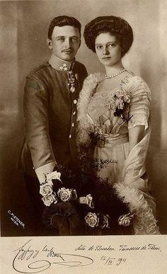 kaiserin zita   Emperor Charles and Empress Zita of Austria-Hungary. ( née Zita de ...