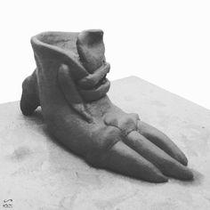 """""""10.5 #sculpture #surreal #artwork"""" Surreal Artwork, Ballet Shoes, Sculpture, Instagram Posts, Leather, Surreal Art, Ballet Flats, Ballet Heels, Sculptures"""