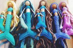 waldorf mermaid dolls bendy dolls