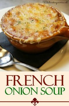 Best French Onion Soup Recipe | whatscookingamerica.net | #french #onion #soup
