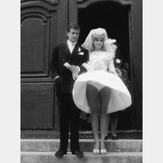 Movie Wedding Dresses, Wedding Movies, Jacques Demy, David Bailey, Roman Polanski, Christian Vadim, Delon, Brooklyn Baby, Sixties Fashion