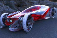 Futuristic Car, Nissan