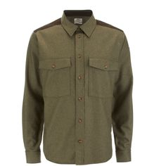 Buy Fjallraven Men's Ovik Wool Shirt - Olive here at The Hut. We've got top products at great prices including fashion, homeware and lifestyle products. Free delivery available