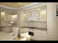 Современный интерьер кухни - варианты для большой и маленькой кухни