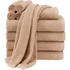 Basic 10 Piece Towel Set