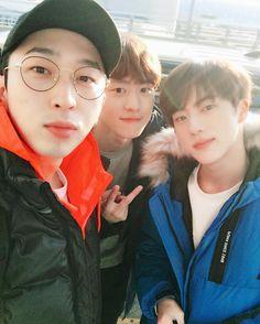 SLEEPY, GONG MYUNG & JIN || 5URPRISE & BTS