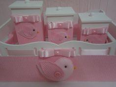kits de higiene marrom e rosa com coroa - Pesquisa Google