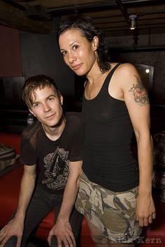 Matt & Kim - FADER Magazine Party   Flickr - Photo Sharing!