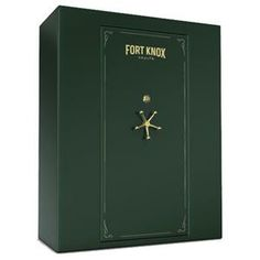 """Fort Knox Defender/ 90 Minute - 100 Gun Vault Specifications Height: 72.5"""" Width: 61"""" Volume: 69 cu. ft. Depth/Overall: 27""""/30"""" Weight: 1644 lbs Locking Bolts: 13 - 1 1/2"""""""