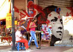 Stinkfish New Street Pieces - Santa Marta, Colombia