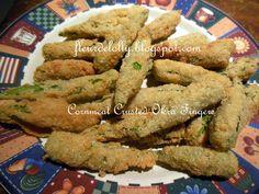 Fleur de Lolly: Cornmeal Crusted Okra Fingers