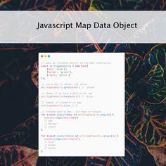 Knowing and understanding #javascript data structures in programming is essential. One of those very useful data structures in javascript is a Map Mark Green, Data Structures, Learn To Code, Internet Radio, It's Meant To Be, Web Development, Programming, How To Become, Coding