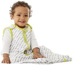 Baby Boy Clothes Baby Deedee Sleep Nest Lite Baby Sleeping Bag, Lime, Medium (6-18 Months)