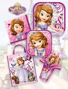 Sofia the First Party Supplies : Sofia the First Party Supplies
