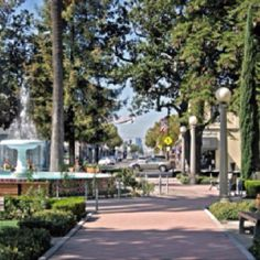 Old Town Orange, Ca. the Orange Circle.. Awesome vintage shopping and just a beautiful area.