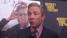 Whiskey Tango Foxtrot World Premiere Interview - Martin Freeman