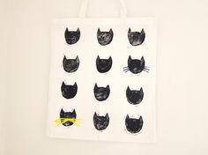 Cat Shopper / Tote Bag