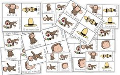 Curious George Fry Phrases