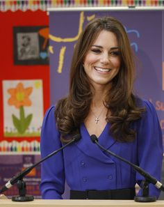 Catherine, Duchess Of Cambridge Visits The Treehouse Children's Centre
