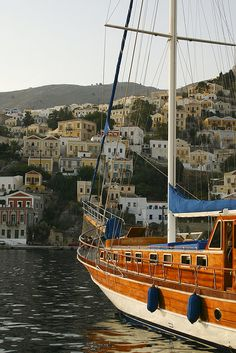 Sail to the Greek Island of Symi, Dodecanese, Greece