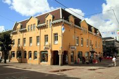Bokia Bookstore - Uddevala, Sweden - Kunsgatan 8, one of the oldest buildings of the town