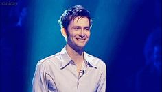 Tennant GIF. I just drooled a little. I'd be embarrassed except he's wonderful. 2013, no regrets.