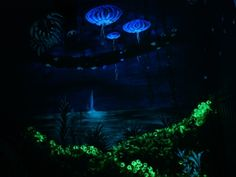 Avatar glowing mural 2013