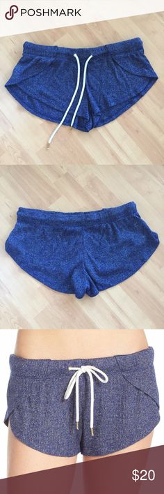 Drawstring shorts Cute and extremely comfy drawstring shorts. Like new condition and only worn once! Honeydew Intimates Shorts