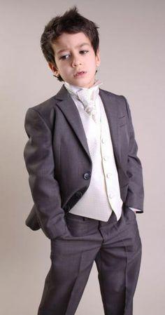 Wholesale Black Boys Suits Baby Page Boy Suit Tuxedo Wedding Party ...