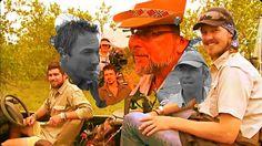 Live safari crew, Peiter Pretorius, Hayden Turner, Marc Weiner, Scott Dyson with cameramen.