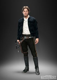 Han Solo, Princess Leia And Emperor Palpatine Join The Hero And Villain Roster Of 'Star Wars Battlefront' Han Solo Leia, Star Wars Han Solo, Coleccionables Sideshow, Cyberpunk, Starwars Battlefront, All Star, Star Wars Characters Pictures, Emperor Palpatine, Star Wars Costumes