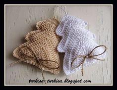 alberello di natale uncinetto | Hobby lavori femminili - ricamo - uncinetto - maglia