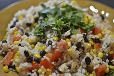 """""""Point-less"""" Meals: Fiesta Rice"""