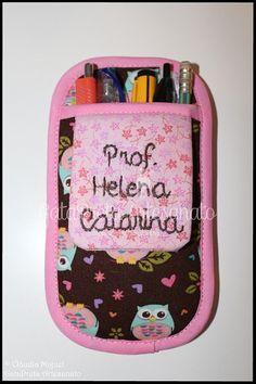 """Estojo de canetas de bolso """"Mochinhos Primaveris"""""""