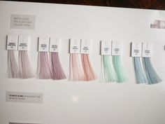 We are SO excited to play with these new colors from #wella!!