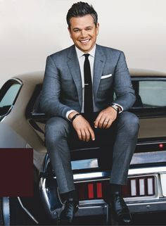 Matt Damon para GQ USA Agosto 2016 por Sebastian Kim