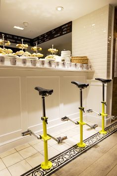 Brompton Bicycle's new flagship store recently opened in one of London's trendiest districts - Covent Garden. (Brompton Junction via http://LondonTown.com)