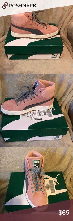 Puma Winterized rugged brand new never worn Puma winterized rugged sneakers pink/grey Puma Shoes Sneakers