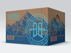 Breckenridge Brewery Mother Cartons designed by Brian Rau. Connect with them on Dribbble; Cool Packaging, Beer Packaging, Print Packaging, Packaging Design, Label Design, Box Design, Corrugated Packaging, Carton Design, Brewery Design