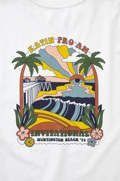 Men's Organic Cotton Graphic Tees - Katin USA Huntington Beach, Organic Cotton, Graphic Tees, Flag, Style, Block Prints, Swag, Science, Flags