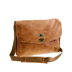 cac0d6f222715 Belstaff® leather messenger bag Everyday Bag